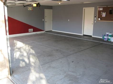 makeover garage epoxy flooring lots of pics