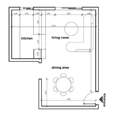 Kitchen Dining Room Design Layout How To Place Furniture In My Open Plan Living Dining Room