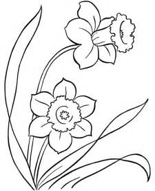flower color pages 7 flowers coloring pages