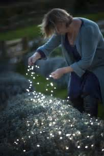 Led Solar Powered Fairy Lights - 38 innovative outdoor lighting ideas for your garden