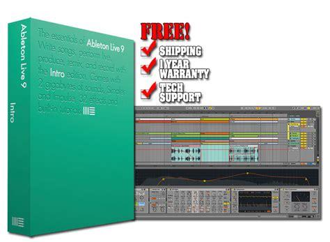 Ableton Live 9 Intro Original Software ableton live 9 intro production software chicago dj equipment 123dj