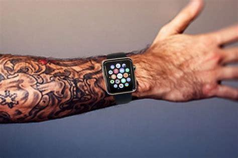 tattoo apple watch αντιγραφάκιας τα τατουάζ αχρηστεύουν το apple watch video