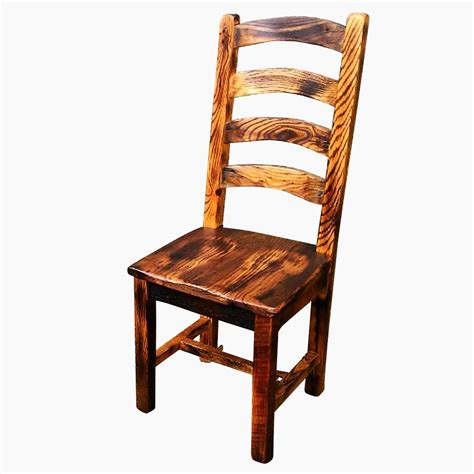 Rustic Dining Chairs Wood Buy Crafted Burnt Oak Reclaimed Wood Arched Slat Rustic Dining Chairs Made To Order From