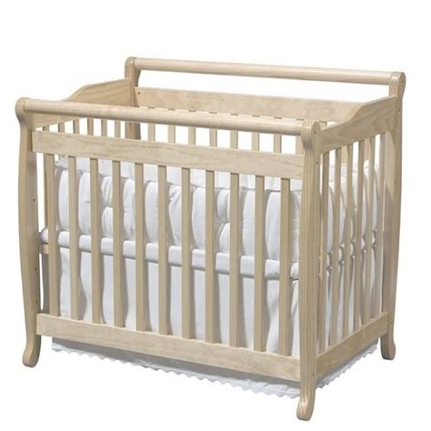 Davinci Emily Mini 2 In 1 Convertible Wood Baby Crib In Mini Baby Crib