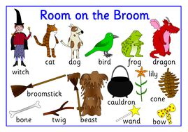 room on the broom pdf room on the broom story resource pack by robbyn teaching resources tes