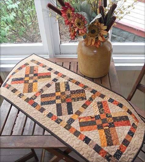 free pattern table runner free fall table runner pattern 171 cornbread beans
