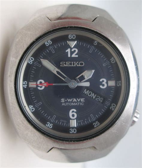 Seiko S Wave seiko s wave automatic wristwatch catawiki