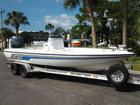 bay boats for sale clearwater fl sold 2007 skeeter zx 22v w yamaha 250 clearwater fl