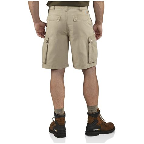 rugged shorts carhartt 174 rugged cargo shorts 587946 shorts at sportsman s guide