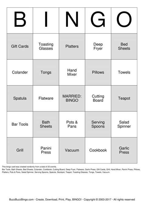 printable bridal shower gift bingo cards bridal shower bingo cards to download print and customize