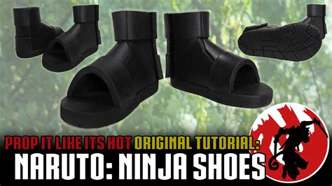 tutorial naruto shoes naruto ninja shoes tutorial youtube