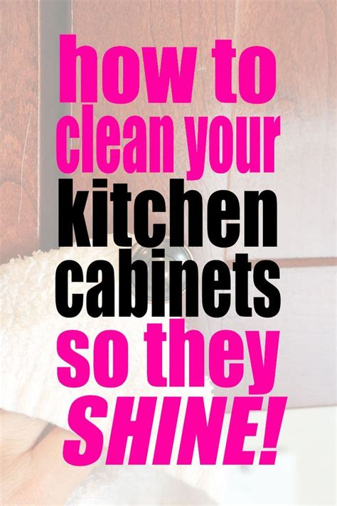 how to clean your kitchen how to clean kitchen cabinets so they shine self 981