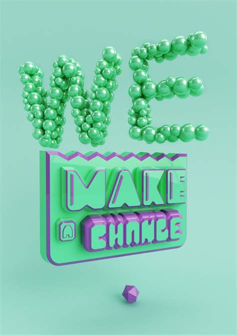 typography served 38 best 3d typography images on 3d typography
