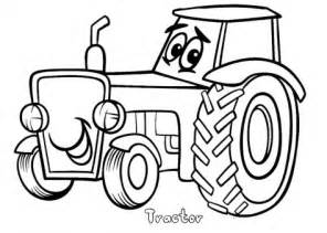 print out tractor coloring pages printable coloring