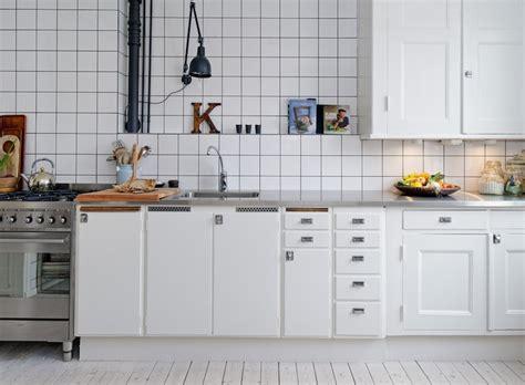 Kitchen Cabinets Ny by Cocina Con Azulejos Blancos Me Encantan Decoraci 243 N Chic