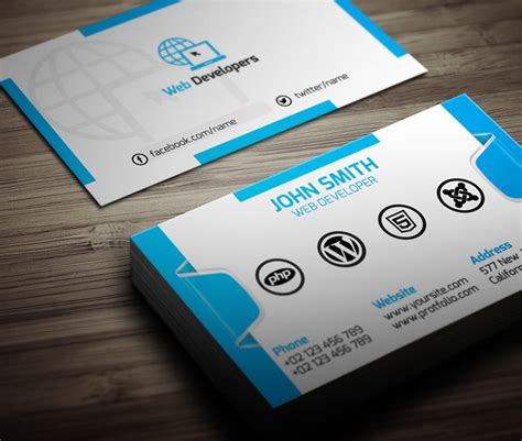 Business Card Website Template Free 26 new photoshop free psd files for ui design freebies