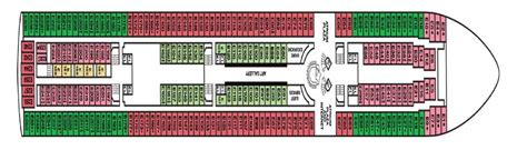 carnival paradise floor plan international cruise carnival paradise deck plan