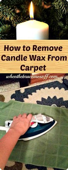How To Remove Candle Wax From Upholstery by Best 25 Removing Candle Wax Ideas On Reuse