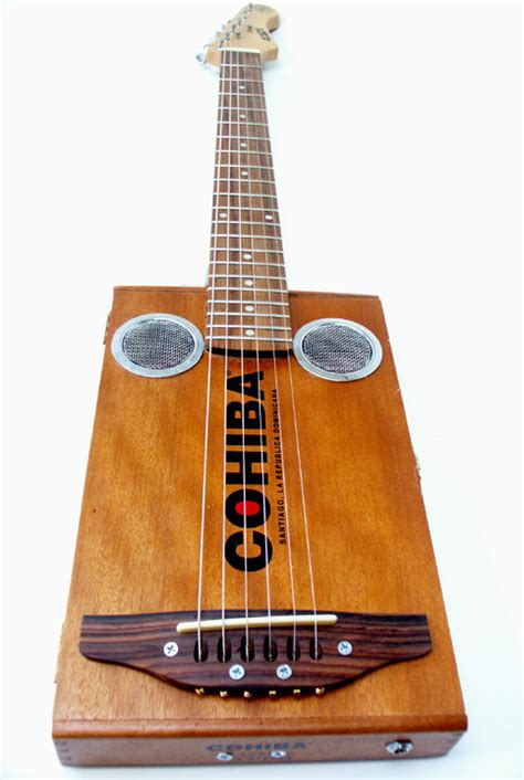 Handmade Cigar Box Guitars - items similar to cohiba cigar box electric guitar handmade