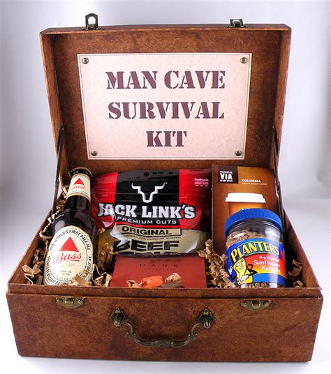 man cave gift ideas man cave survival kit