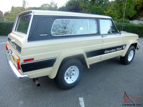 jeep chief for jeep cherokee chief sj for sale
