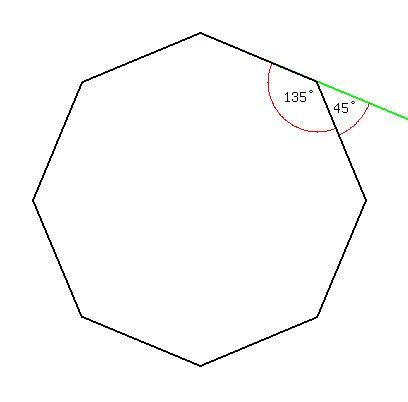 What Is The Interior Angle Of A Octagon by Solution Each Interior Angle Of A Regular Polygon Is
