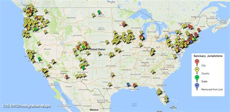 united states map of sanctuary cities sanctuary cities what you need to about s