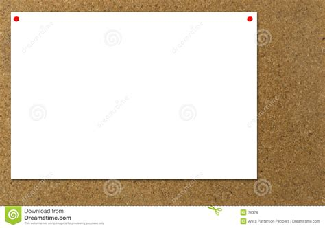 notice board design powerpoint bulletin board notice stock photo image of white post