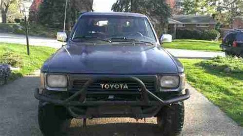 Custom 1990 Toyota Buy Used Custom 1990 Toyota 4runner Sr5 2 Door Model