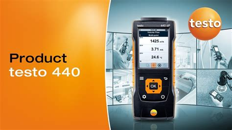 testo the intuitive air velocity and iaq the testo 440 be sure