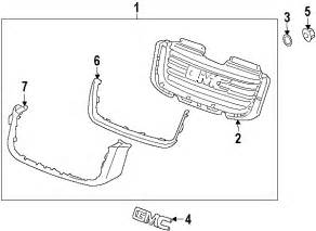 Gmc Envoy Exhaust System Diagram 2003 Gmc Envoy Parts Gm Parts Department Buy Genuine Gm