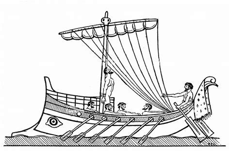 dessin bateau egyptien coloriage bateau ulysse meilleures id 233 es coloriage pour