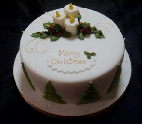 christmas cakes   centrepiece cake designs isle  wight