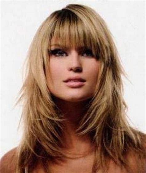 long layered haircuts for fine hair