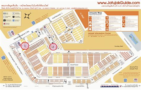 Chatuchak Market Sections by Travel Foodie Food 20150111 Chatuchak Weekend Market