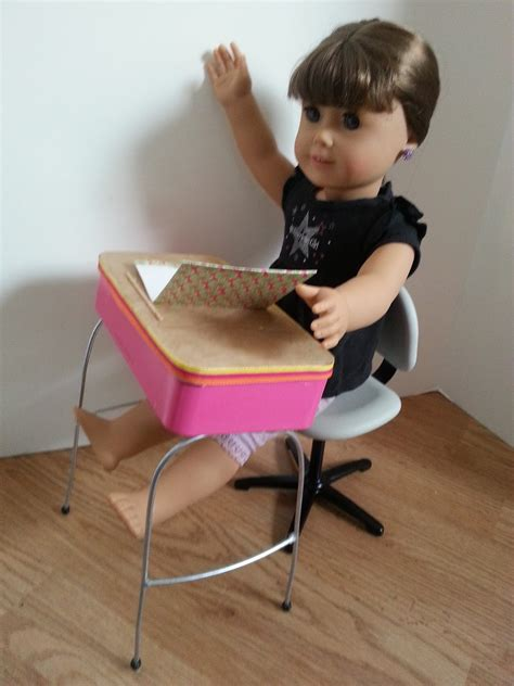 american doll desk american doll crafts and fun back to series