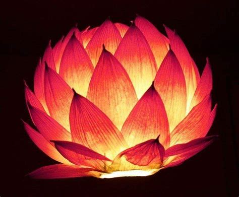How To Make Beautiful Paper Lanterns - diy lotus and paper lanterns craft ideas