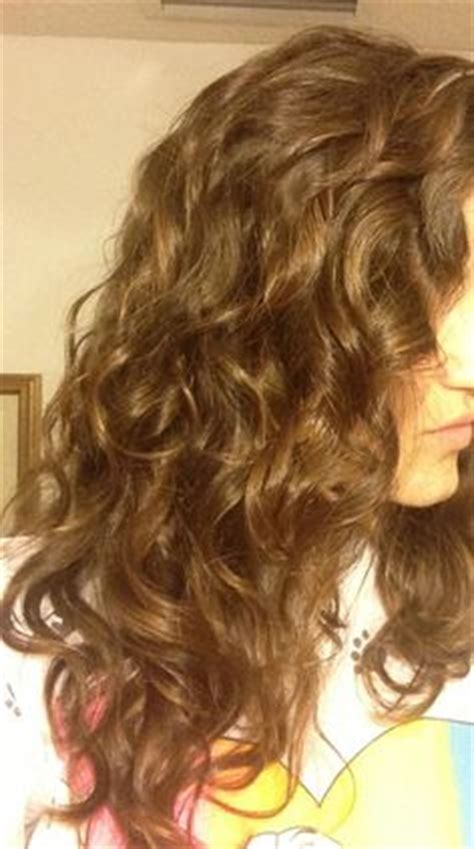 loose curl partial perm 11 19 2012 before and after of a perm i did on my guest