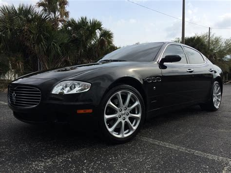 maserati black 4 door 2006 maserati quattroporte 4 door sedan 170985