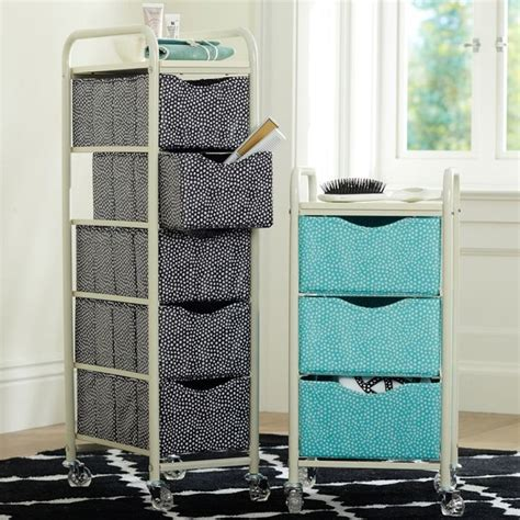 rolling bathroom storage mini dot ready to roll storage cart bathroom cabinets