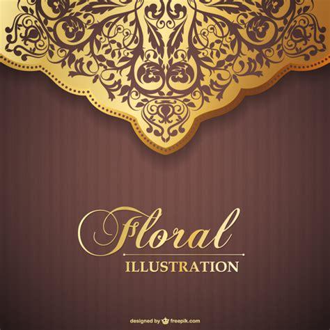 floral invitation vector vector free download