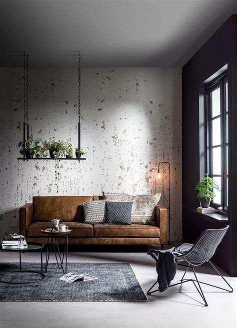 black donkere interieurs met een sobere moody