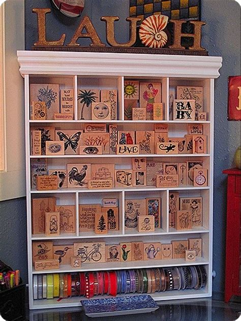 storage ideas for rubber sts 17 best images about sewing craft room dreaming on