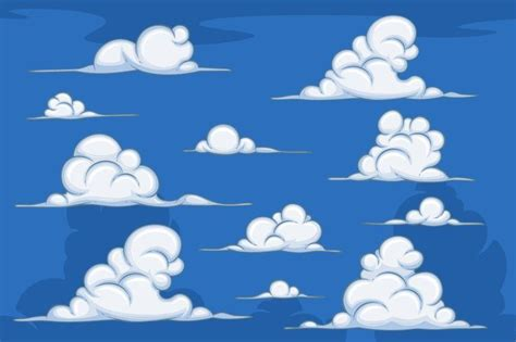 cartoon clouds    gambar kartun grafiti awan