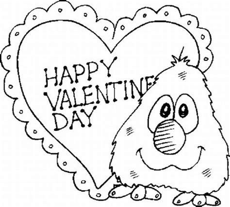 free printable coloring pages valentines day free printable day coloring pages