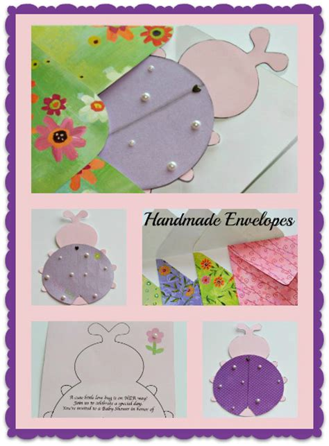 Baby Shower Handmade Invitations - handmade baby shower invitations true aim