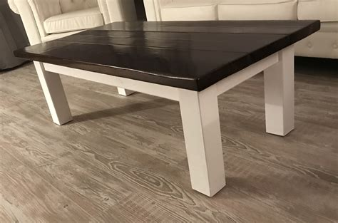 ana white rustic farmhouse coffee table diy projects