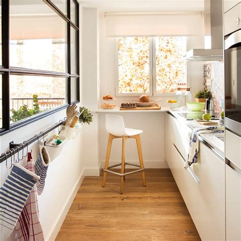 cocinas muebles decoraci 243 n dise 241 o blancas o peque 241 as