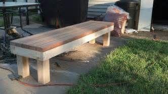 easy 2x4 bench simple 2x4 bench 2x4s pinterest