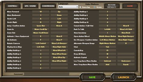 skyrim change hotkeys controls and keybindings for pc dungeon defenders wiki